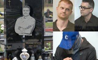ФОТО | Обвиняемые в заказном убийстве лидера преступного мира Литвы эстонцы наконец отправлены под суд