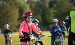 DELFI FOTOD | Tartu rattamaratoni lastesõitudest võttis osa sadu väikeseid rattahuvilisi