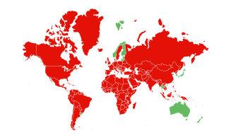KAART | Vaata, millistest riikidest saabudes ei ole vaja eneseisolatsiooni jääda