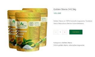 Amet: kliente petetakse ja stevia ekstrakti pähe müüakse hoopis tärklisest saadud ainet