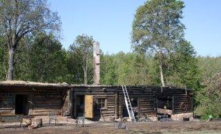 Pühapäeval hävis tules tuntud Tammuri talu restoran