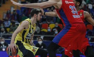 BLOGI JA VIDEO | Euroliiga liider CSKA kaotas jälle, Žalgiris võitis lõpusekundi viskest