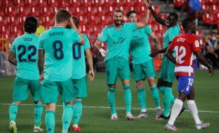 Madridi Real oma fännidele: kui me tuleme meistriteks, siis tähistage seda kodus