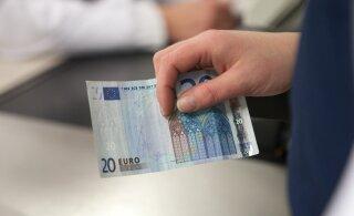 В учреждении в центре Таллинна были обнаружены фальшивые деньги
