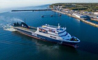 Компания DFDS закрывает линию Палдиски - Ханко, но увеличивает число отправлений на Швецию