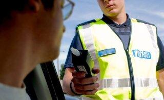 Полиция провела в понедельник крупную операцию на дорогах Харьюмаа