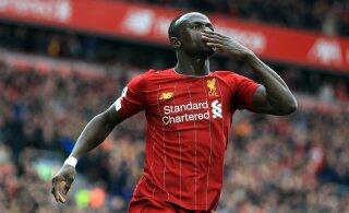 Sadio Mane: mõistaksin, kui Liverpool jääks Premier League'i tiitlist ilma