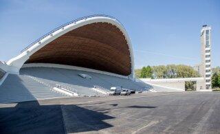 FOTOD | Remondi läbinud Tallinna lauluväljak avatakse pidulikult