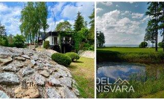 ФОТО И ВИДЕО | Смотрите, какие прекрасные приватные дачи продаются в Эстонии