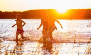 Завтра и на выходных в Эстонии ожидается 23 градуса тепла
