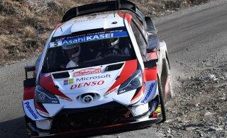 VIDEOD   Testisõidud täies hoos: Ogier, Meeke ja Sordo valmistuvad Korsika ralliks