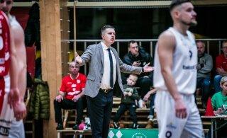 Eesti-Läti korvpalliliiga klubi tundis ennast reedetuna ja lõpetas tegevuse
