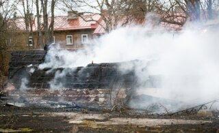Поджог или несчастный случай? Полиция расследует пожар в здании Балтийской мануфактуры как уничтожение памятника культуры