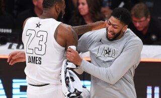 LeBron James tervitas Lakersi uut tähte: teeme selle ära, vennas!