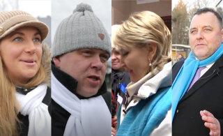 VIDEO   Kampaaniaga kaasas! Missugust valimisnänni jagasid SDE, Eesti200 ja Isamaa poliitikud rahvale?
