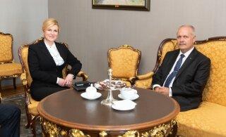 FOTOD | Riigikogu esimees ja Horvaatia president pidasid tähtsaks ühiseid väärtusi