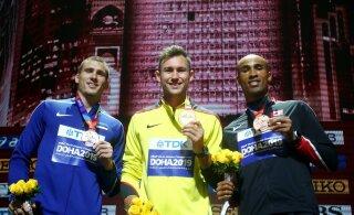 ФОТОНОВОСТЬ: Майкель Уйбо получил серебряную медаль чемпионата мира