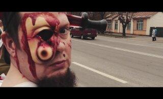VIDEO | Hirmsate fantaasiategelastega rongkäik avas Haapsalu õõvafilmide festivali