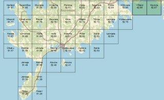 Iga ruut Saare maakonnast on nüüd kaardistatud