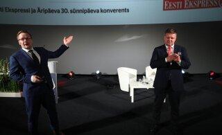 Erik Moora ja Meelis Mandel meediakonverentsil: ajakirjanduse koiduaeg on alanud