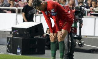 Koondisemängus vigastada saanud Ronaldo kommenteeris oma seisundit