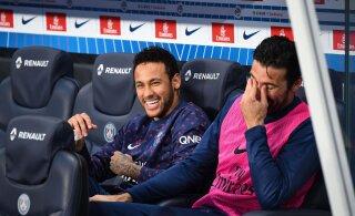 PSG ei pidanud kaheksanda meistritiitli kindlustamiseks väljakulegi astuma
