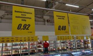 ФОТО DELFI | Дискаунтер A1000 Market наконец-то в Таллинне! Какими ценами удивляет продуктовый от алкомагнатов?