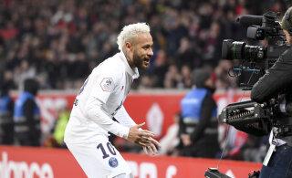 Prantsuse meedia: Neymar on valmis PSG-ga uut lepingut arutama