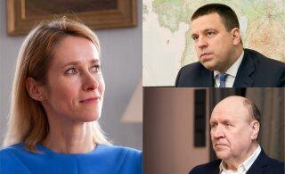 Кая Каллас о высокой поддержке премьер-министра: Юри Ратаса абсолютно не видно, правительство говорит голосом Марта Хельме