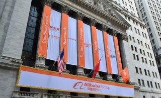 E-kaubanduse gigant Alibaba tegi e-esmaspäeval müügirekordi, mis kasvab jätkuvalt