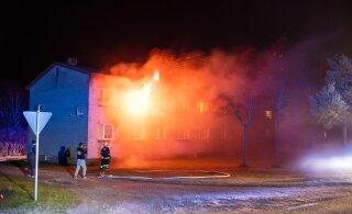 ФОТО | На Сааремаа в пожаре погиб мужчина