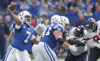 Hunt ja Colts said tänu kõvale kaitsele vägeva võidu põhirivaali üle