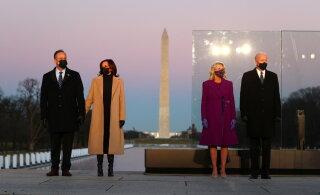 FOTOD | Jill Bideni ja Kamala Harrise COVIDi ohvrite mälestamise päevaks valitud rõivad vihjavad, milliseid muutusi on Valges Majas oodata