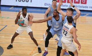 FOTOD JA BLOGI | Hõreda koosseisuga Kalev/Cramo kaotas koduväljakul Peterburi Zenitile 36 punktiga