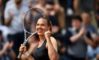 FOTO | Kaia Kanepi valmistub Australian Openiks koos paarismängu esinumbriga