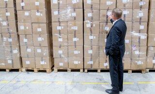 ФОТО И ВИДЕО | Ко второй волне коронавируса готовы: на складах хранятся миллионы средств личной защиты
