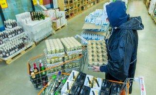 Алкотуристы активизировались: поток эстонского пива в Финляндию вновь стал расти
