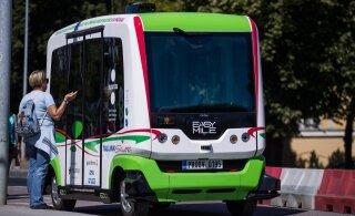 По Кадриоргу можно будет прокатиться на беспилотном автобусе