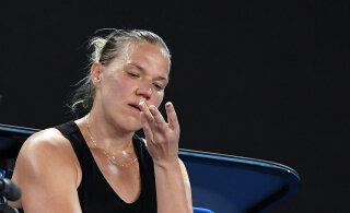 Vihm lükkas Kaia Kanepi Miami turniiri otsustava kvalifikatsioonimängu homsele