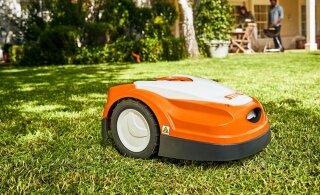 Robotniidukid väikestes aedades