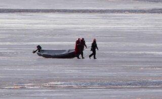 ВИДЕО: Трое мужчин отправились рыбачить и застряли на льдине