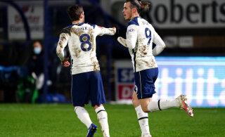 Tottenham ei lasknud end karikasarjas üllatada