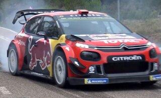 VIDEO | Citroen kopeerib Toyotat? Kataloonia ralliks testitakse uut aerodünaamikapaketti