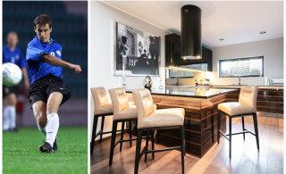 FOTOD | Ela nagu jalgpallur! Endine Eesti koondislane pani pea pool miljonit eurot maksva kodu müüki
