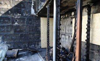 ФОТО   Выброшенный в мусорный бак пепел от костра обошелся домовладельцу почти в 20 000 евро