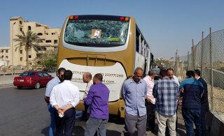 В Египте при взрыве около туристического автобуса пострадали 17 человек