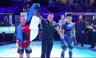 Kaks Eesti vabavõitlejat võitlesid end MMA maailmameistrivõistlustel veerandfinaali
