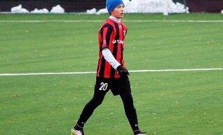 Eesti jalgpallitalent liitus Itaalia kõrgliiga klubi akadeemiaga