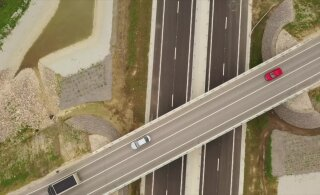 ФОТО, ВИДЕО И КАРТА | Как на лучших дорогах Европы: строители за 88,7 млн построили участок трассы Таллинн - Тарту