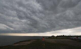 В середине недели в Эстонии ожидаются грозы